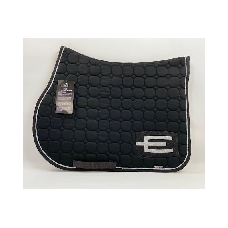 Hoppschabrak E-logga svart/Silver