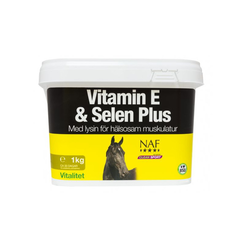 NAF Vitamin E & Selen Plus