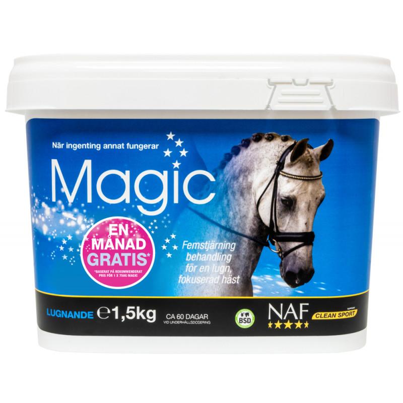 EN MÅNAD GRATIS - NAF Magic Pulver 1,5kg