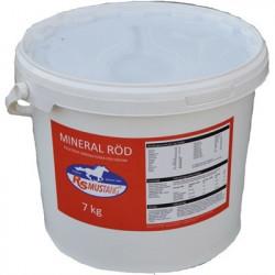 Mustang mineral Röd 7 kg