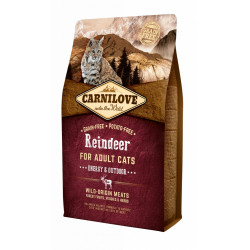 Carnilove CAT Reindeer - Energy & Outdoor 2 kg