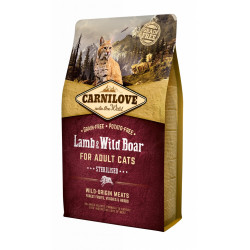 Carnilove CAT Lamb & Wild Boar - for Sterilised 6 kg