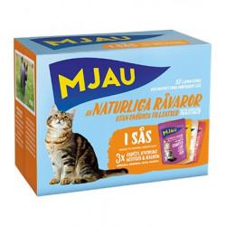 Mjau, Multipack köttsmaker i sås 12*85gr